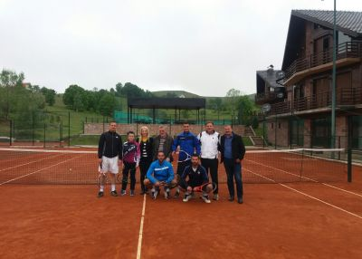 """Priboj and Rudo were given licensed tennis coaches within the project """"White sport and 19th century common cultural and historical heritage as touristic offer of the Municipalities Rudo and Priboj"""""""